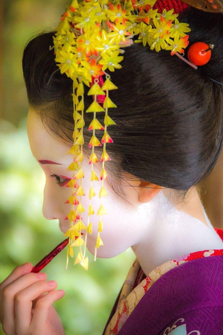 Makeup of Maiko
