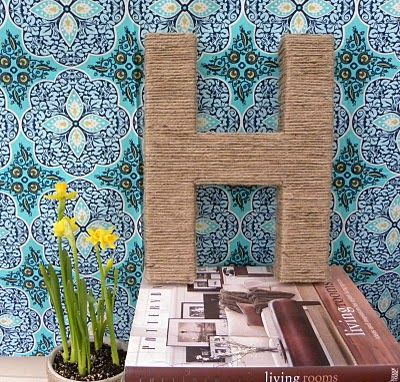 Creative Juices for Decor: Letter Décor–FIVE ways to glam up your home