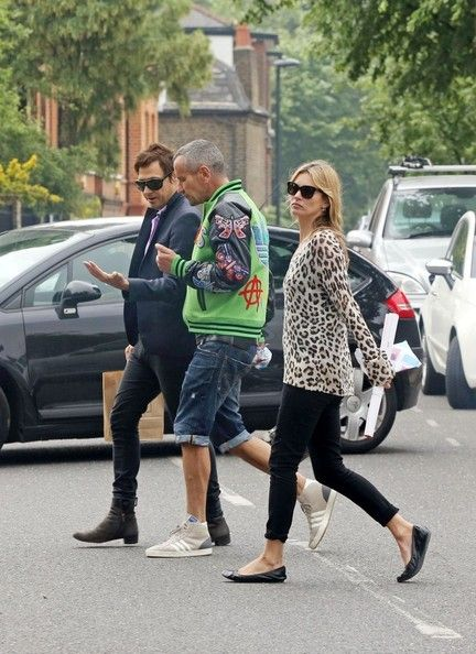 Kate Moss Photos: Kate Moss Takes a Stroll with Her Husband