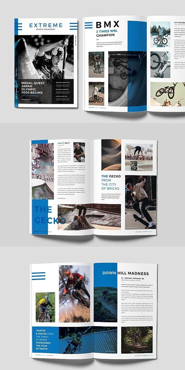 Sports Magazine Magazine Design Sports Magazine Book