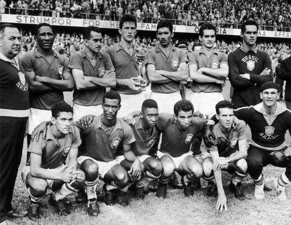 Brazil national football team,World cup 1958