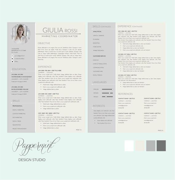 7 best Resumes \ Business Forms images on Pinterest Letter - Resumes That Get Noticed