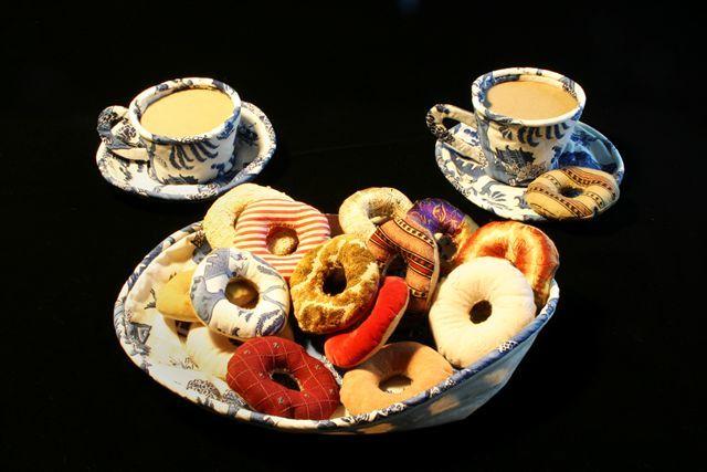 """Donuts and coffee"", 1962. Jann Haworth"