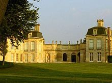 Chateau Anet, home of Diane de Poiters, remodeled by Henri II. Diane is buried here