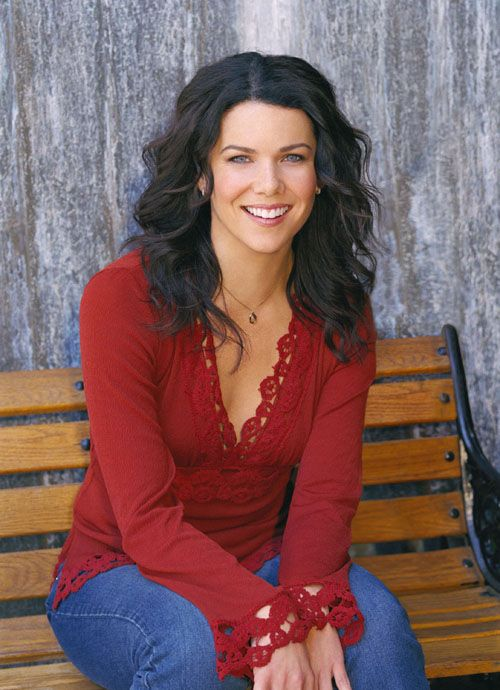Lauren Graham as Lorelai Gilmore on Gilmore Girls.