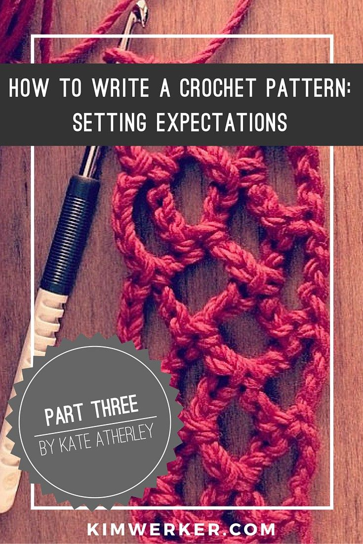 103 best crochet writing images on pinterest craft business diy how to write a crochet pattern pt 3 v10 bankloansurffo Image collections