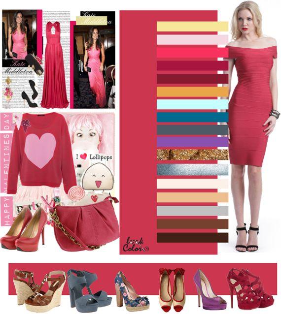 Коралловый лилово-розовый цвет сочетается с