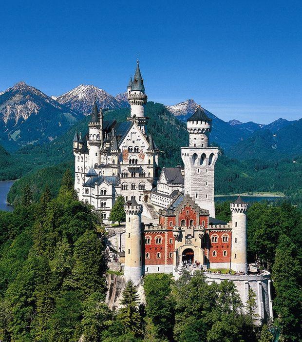 6. Château de Neuschwanstein, Allemagne