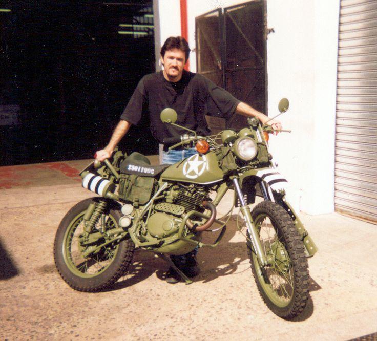 One of the first i built...., A Honda XL350, plenty modifications