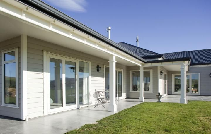 Classic, ageless all timber A-line cladding won this Albury House at the South Canterbury Registered Master Builders' 2011 House of the Year awards.                                                                                                                                                                                 More