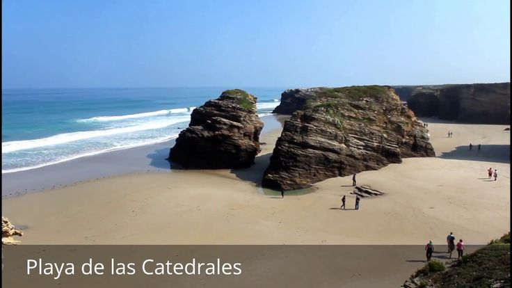 Places to see in ( Ribadeo - Spain ) Playa de las Catedrales  As Catedrais beach translates as 'Beach of the Cathedrals'. It is the turistic name of Praia de Augas Santas. As Catedrais beach translates as 'Beach of the Cathedrals'. It is the turistic name of Praia de Augas Santas (in Galician language : 'Beach of the Holy Waters'). The Spanish beach is located in the Ribadeo municipality in the province of Lugo (Galicia) on the Cantabric coast and Playa de las Catedrales lies about ten…