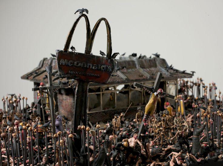 Bem-vindo ao McDonald's do inferno