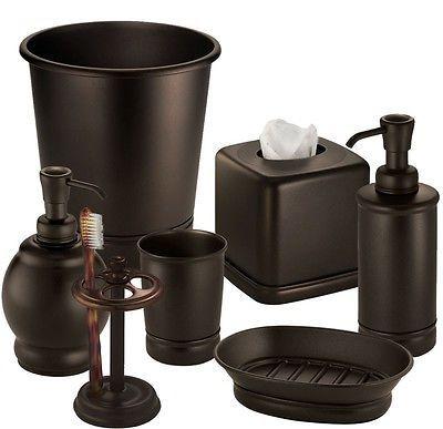 Bathroom Vanity Sink Bath Accessory Coordinates   Oil Rubbed Bronze[Boutique  Box]