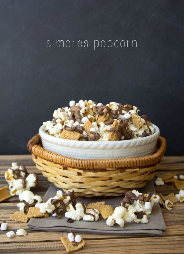 S'mores Popcorn! Forget the fire - this is what I'm talking about!