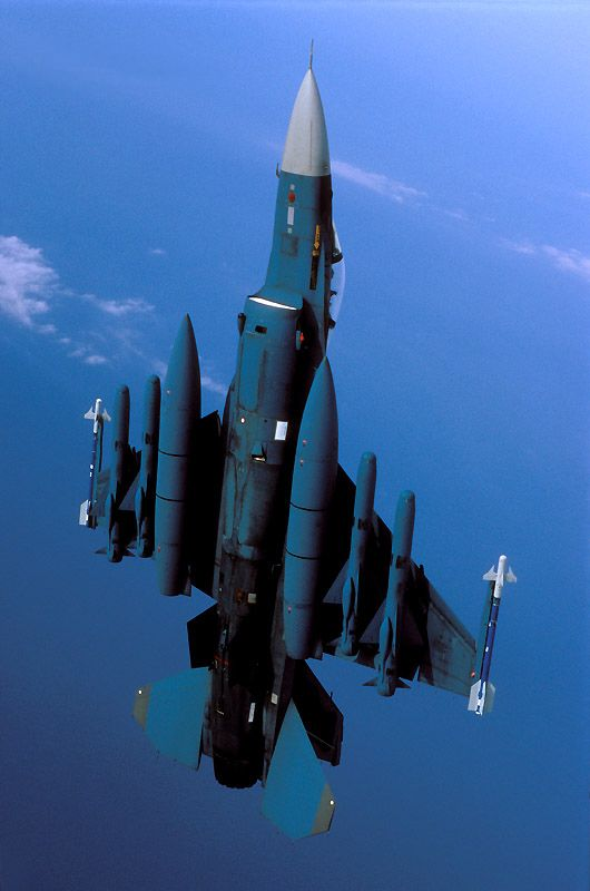 F-2 with heavy burden