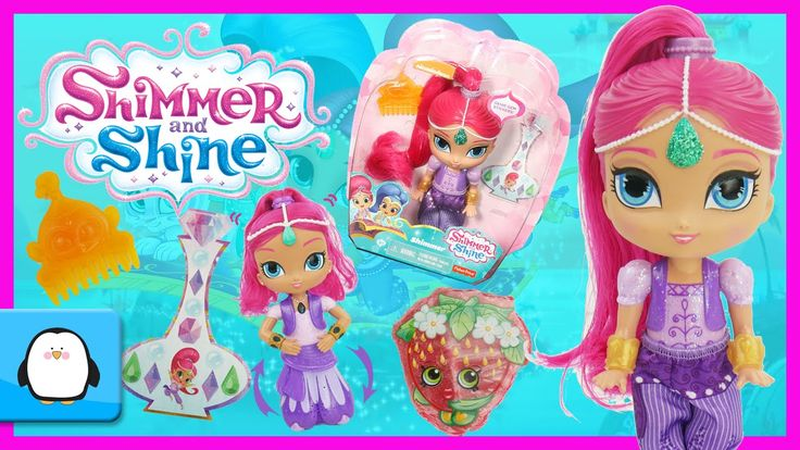 SHIMMER AND SHINE Nick Jr Shimmer Doll Genie Magical Unboxing New Toy Review with Shopkins 2016 by Sparkle Spice.  This cute Shimmer and Shine doll is 6 inches tall and comes with a hair comb in the shape of Shimmer's pet monkey Tala. Shimmer has a soft ponytail little ones will love to brush and style. Shimmer is also dressed in her satin genie outfit matching shoes and golden bracelets  Subscribe here to never miss a video…