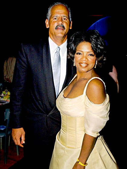 Stedman Graham and Oprah 1986