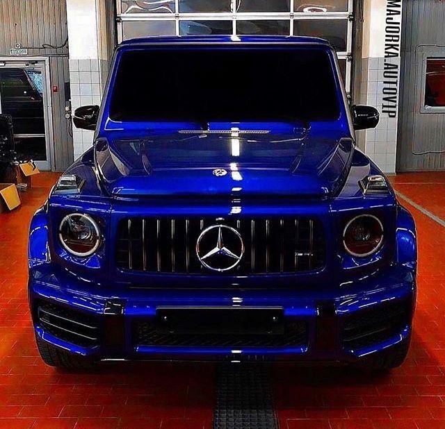 Blue Amg G63 Best Luxury Cars Mercedes Benz G Class Mercedes