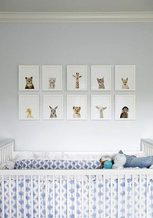 Babyzimmer gestalten filigrane tierbilder hnliche tolle for Mein eigenes zimmer gestalten
