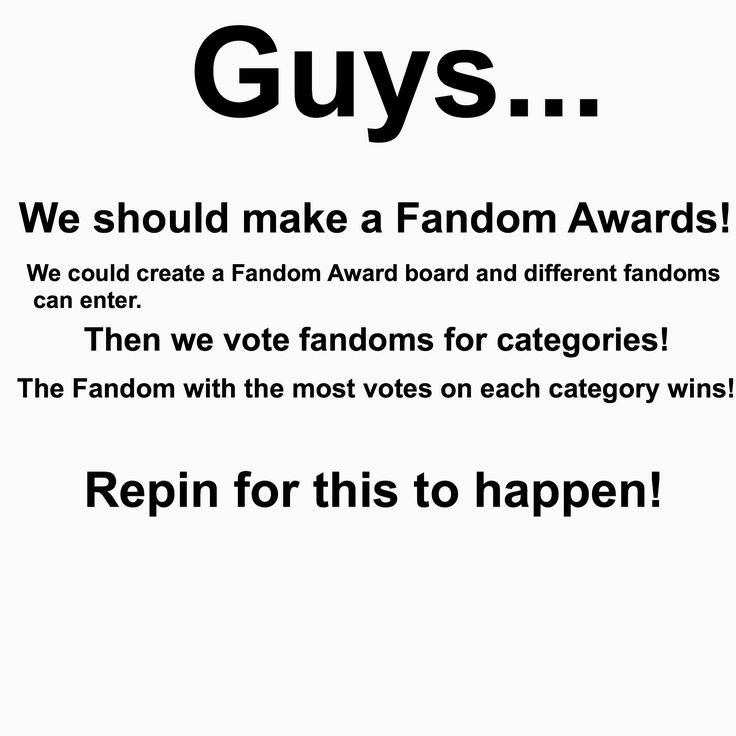 OMG ONE OF THE AWARDS COULD BE LONGEST TIME WAITED FOR NEW SEASON/MOVIE AND ANOTHER COULD BE CRAZIEST FANGIRLS AND FANBOYS