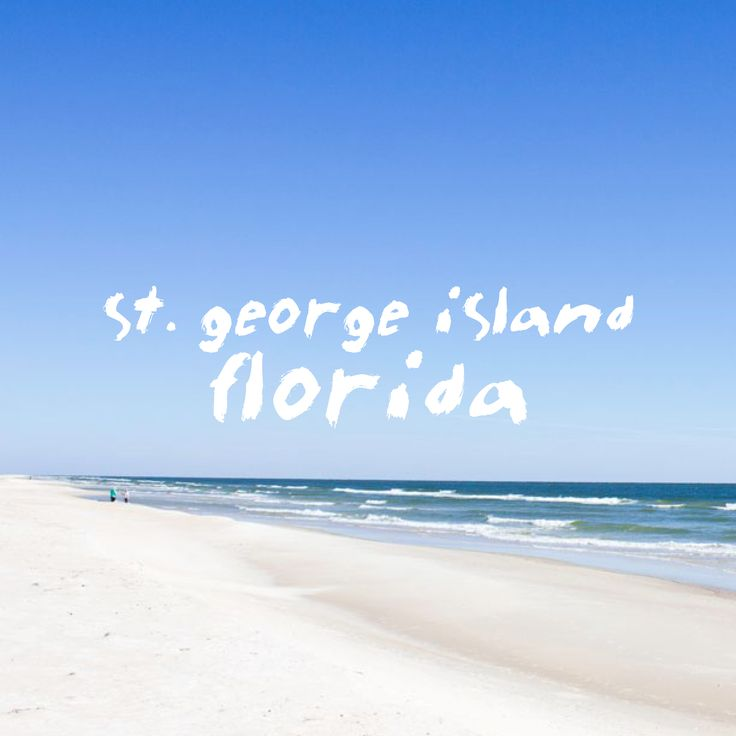 Gulf Of Mexico Vacation Spots In Texas: St. George Island, Florida #beach #life #gulf