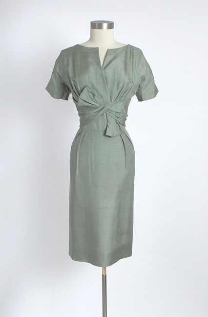 "1950's Classic. Looks like a wardrobe piece from ""Mad Men."""
