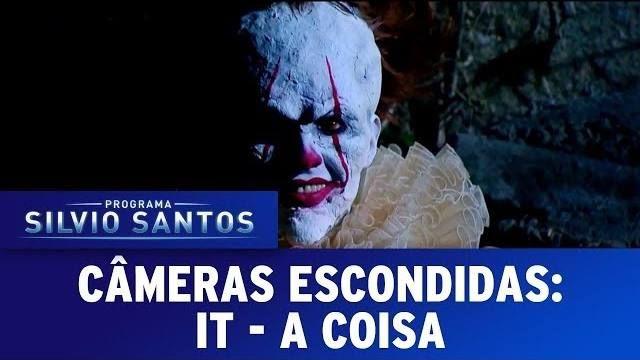 Câmeras Escondidas Programa Silvio Santos acabou de enviar um vídeo