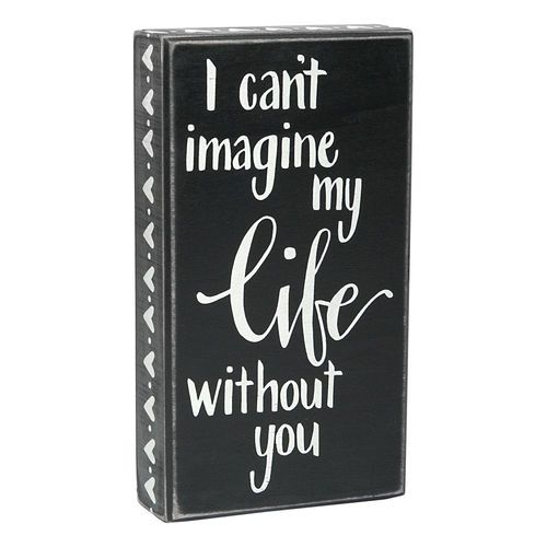 home decor quotes cant imagine life without you quote wall art can - Home Decor Quotes