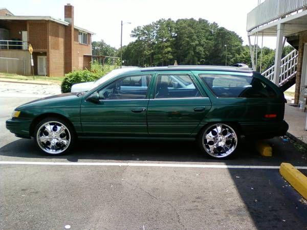 Ugly Ford Taurus Wagon: #fordtaurus #shittycarmod #uglyrims #taurus #wagon | Ugly Ford Cars ...