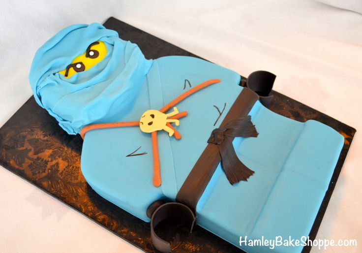 Ninjago Cake, Boys Birthday Cake