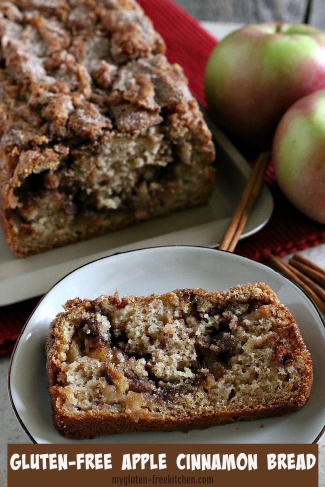 Gluten Free Apple Bread Apple Bread Recipe Gluten Free Coffee Cake Apple Cinnamon Bread
