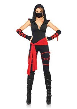4pc. Deadly Ninja Catsuit Costume Check out this amazing cat costume! #halloween2017 #cats