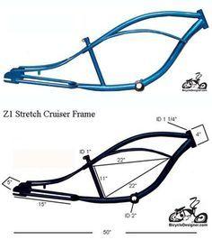 Stretch Cruiser Z1 BLUE