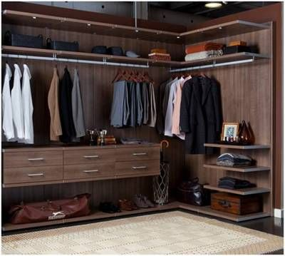 Man Closet.....courtesy of California Closets