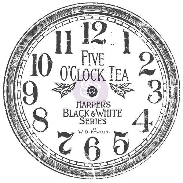 IOD- Decor Transfer- 5 O'Clock Tea