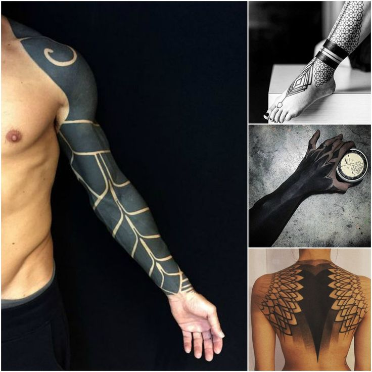 Black Out Tattoos