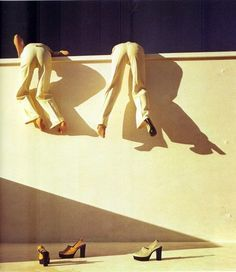 Guy Bourdin // Wall // Action