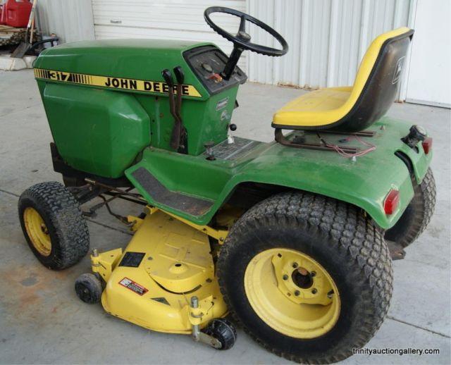 John Deere Lawn Tractor Prices | Lot # : 238 - John Deere 317 Lawn & Garden Tractor