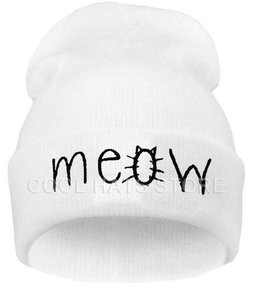 Meow Hip-hop Cat Hat & Beanie