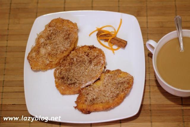 Lazy Blog: Cómo hacer torrijas caseras. Cuatro recetas de torrijas paso a paso