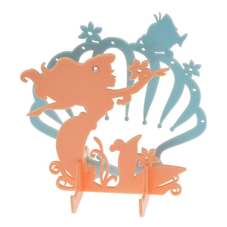 【公式】ディズニーストア|アクセサリースタンド アリエル シルエット: |ディズニーグッズ・ギフトの公式通販サイトDisneystore
