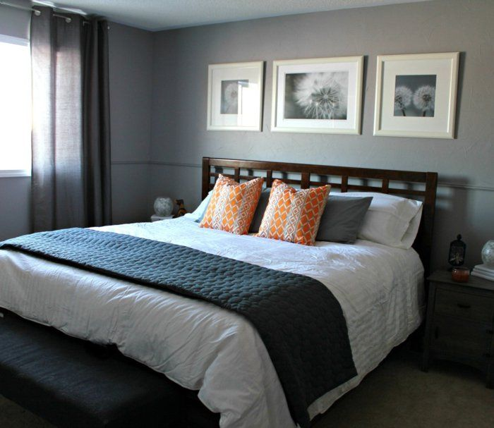 112 best idée chambre images on Pinterest | Grey room, Master ...