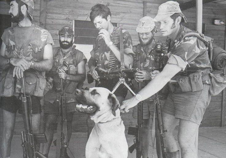 Rhodesian Selous scout.
