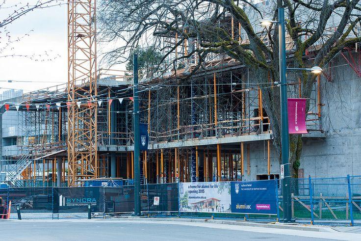 Under Construction: UBC Alumni Centre