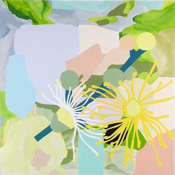 ART PRINT | grey carrol myrtle by leah bartholomew