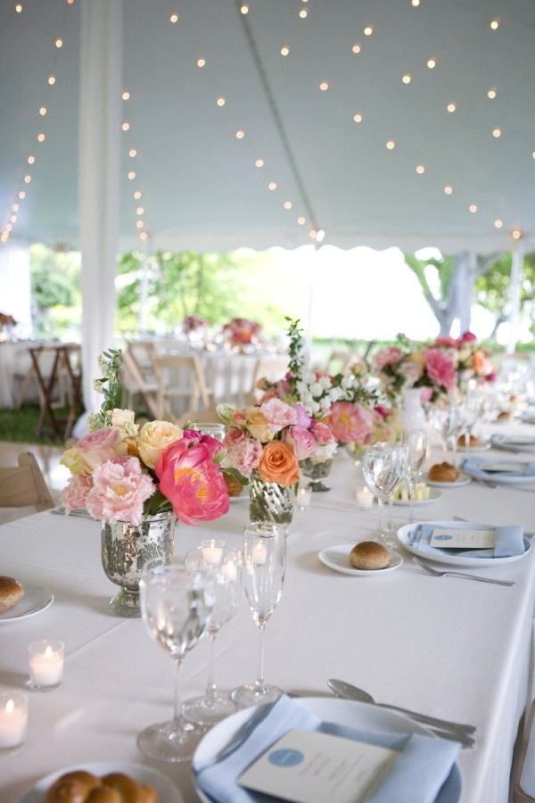 Garden Wedding Table Setting