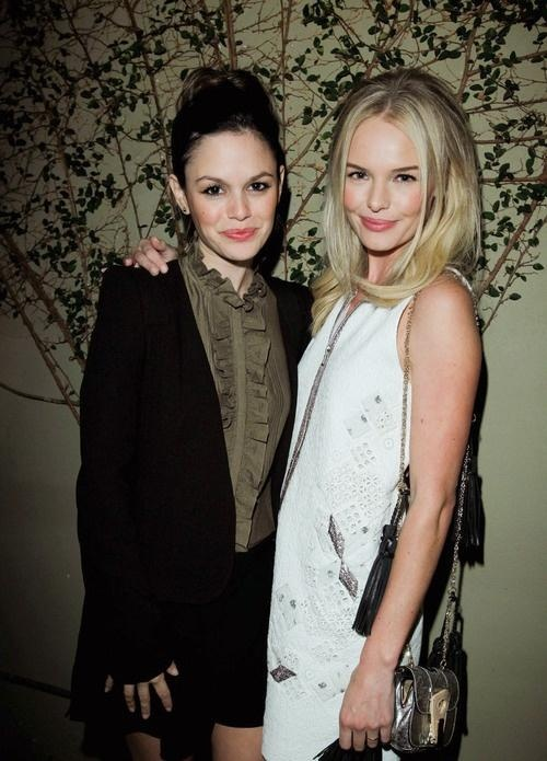 Kate Bosworth and Rachel Bilson. Literally my favorite people