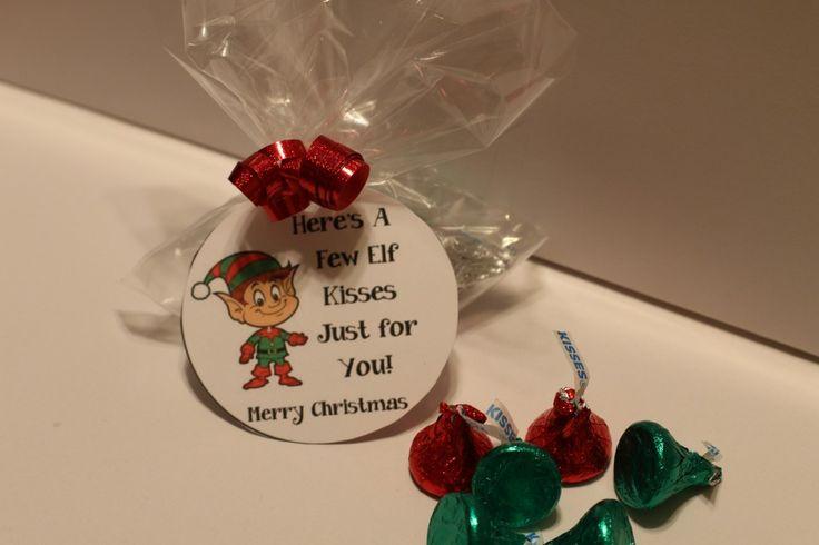 Elf on the shelf kisses free printable elf on the shelf for Elf on the shelf chocolate kiss