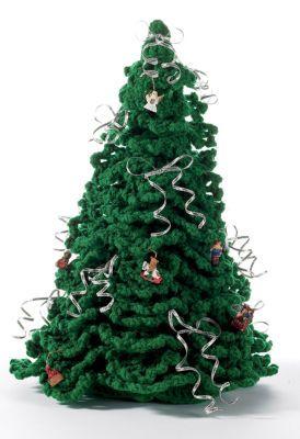 Crochet Christmas tree (free pattern)