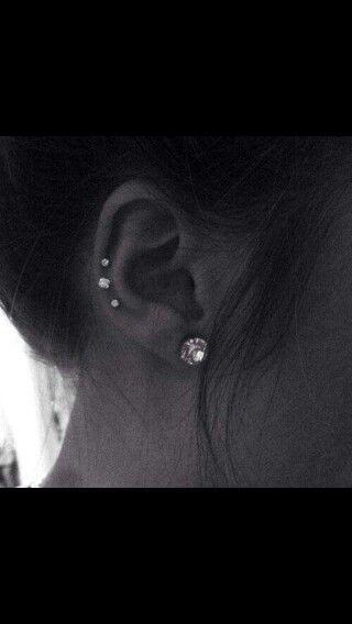 Ear piercing wedding style